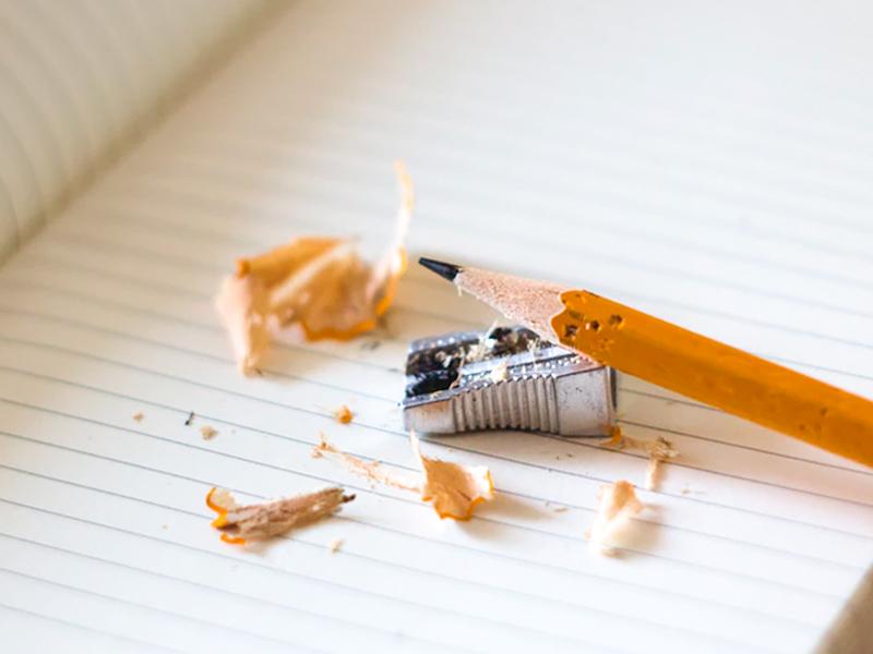 Cómo dibujar a lápiz siempre con punta sacapuntas