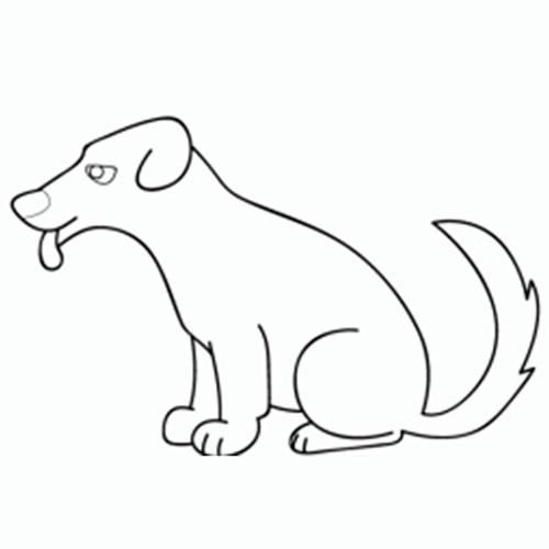 Cómo Dibujar Un Perro Comodibujarclub