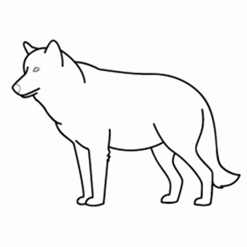 Cómo Dibujar Un Lobo Comodibujarclub