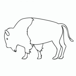 dibujar un búfalo