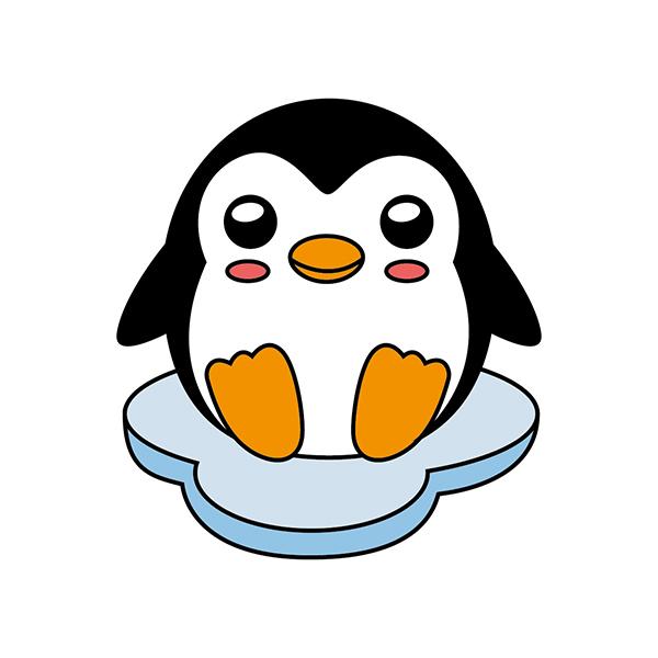 pinguino kawaii