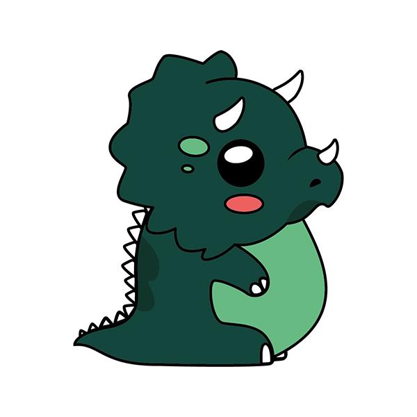 dinosaurio kawaii