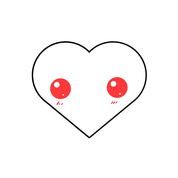 dibujar un corazon