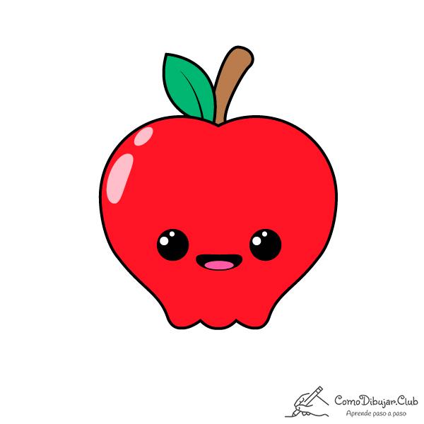 manzana-kawaii