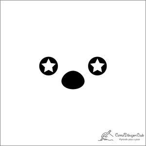 cara-kawaii-estrella