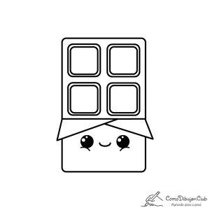 chocolate-kawaii-colorear-imprimir-dibujo