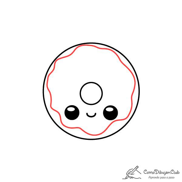 dibujar-donut-kawaii-paso-a-paso