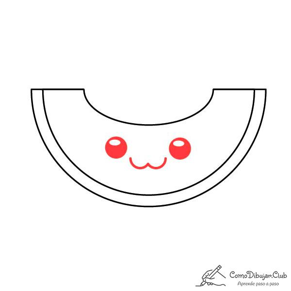 dibujar-melon-kawaii-facil