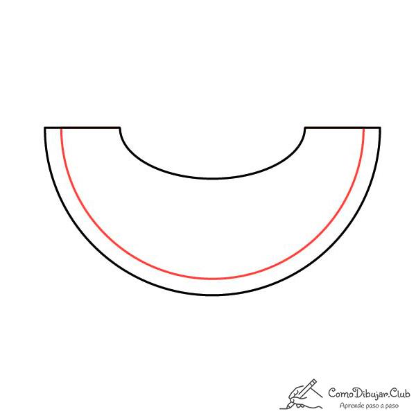 dibujar-melon-kawaii-paso-a-paso