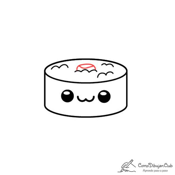 dibujo-sushi-kawaii-bebe