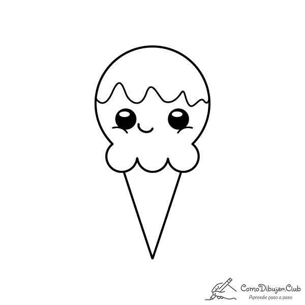 helado-kawaii-colorear-imprimir-dibujo