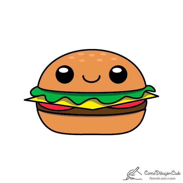 kawaii-hamburguesa