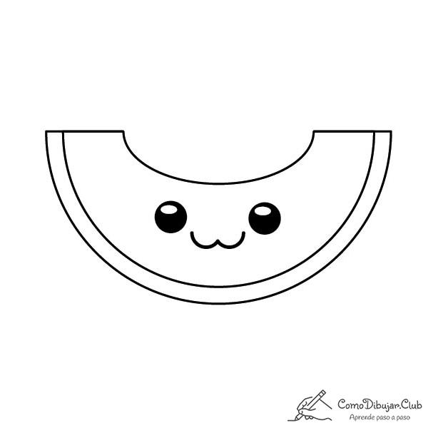 melon-kawaii-colorear-imprimir-dibujo