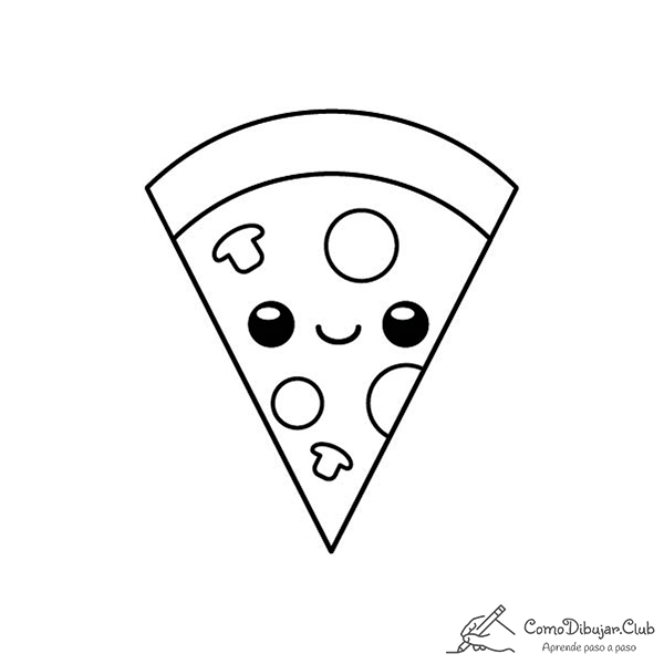 pizza-kawaii-colorear-imprimir-dibujo