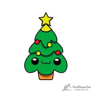 arbol-de-navidad-kawaii