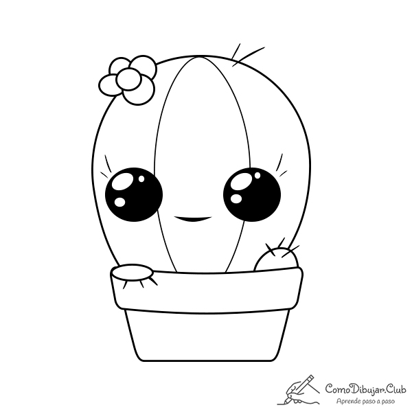 cactus-kawaii-colorear-imprimir-dibujo
