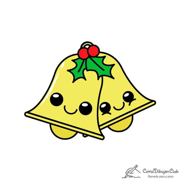 campanas-de-navidad-kawaii