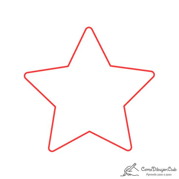 dibujar-cabeza-estrella-de-navidad-kawaii