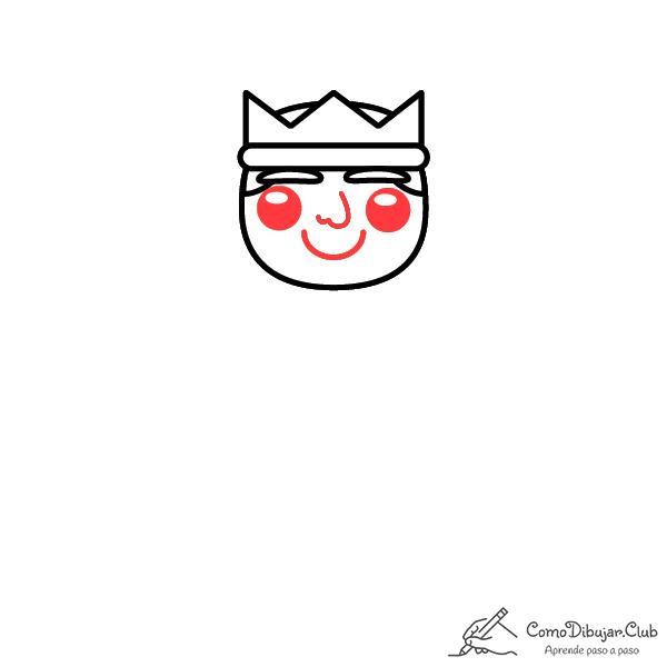 dibujar-rey-Baltasar-kawaii-facil