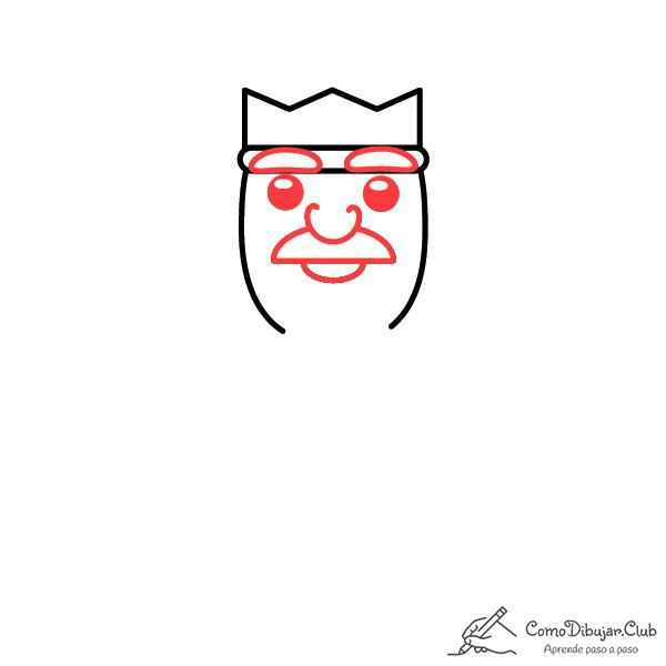 dibujar-rey-Gaspar-kawaii-facil