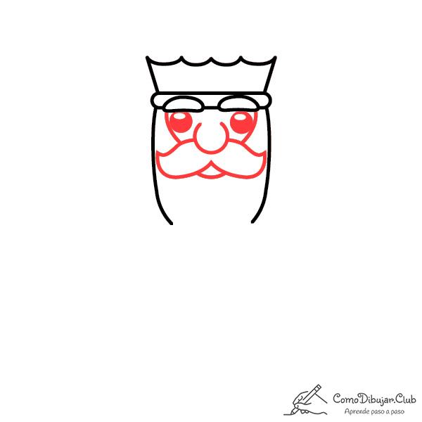 dibujar-rey-Melchor-kawaii-facil