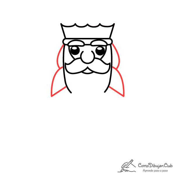 dibujar-rey-Melchor-kawaii-paso-a-paso