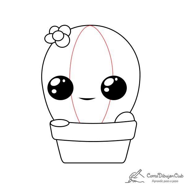 dibujo-cactus-kawaii-bebe