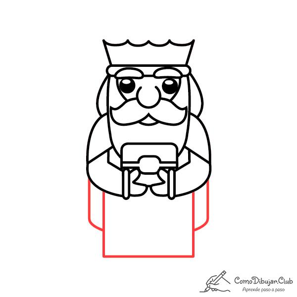 dibujo-rey-Melchor-kawaii-bebe