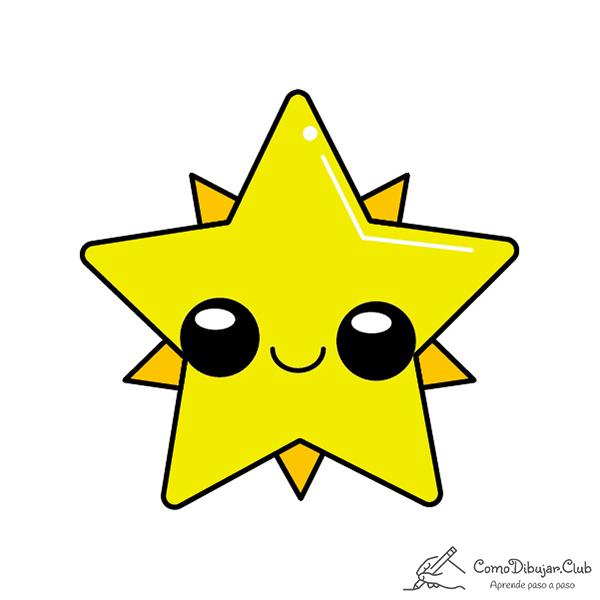 estrella-de-navidad-kawaii