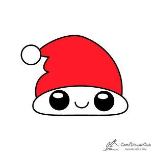 gorro-de-navidad-kawaii