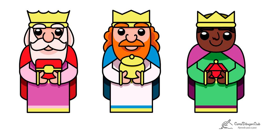 reyes-magos-dibujo