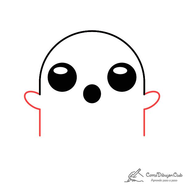 dibujar-fantasma-kawaii-paso-a-paso