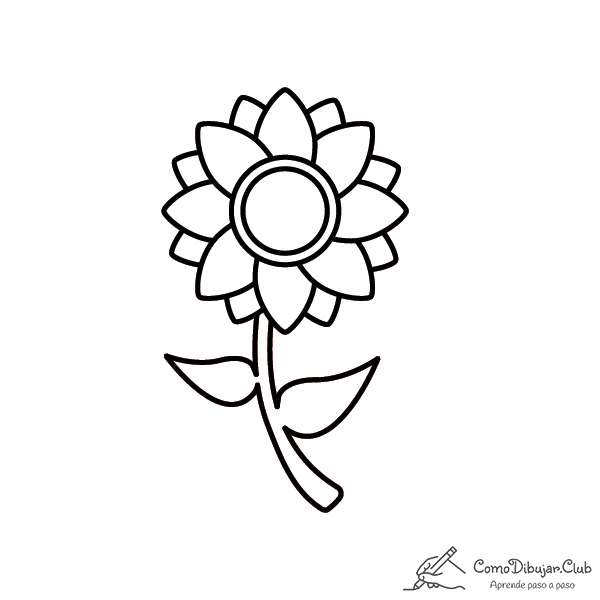 girasol-bonita-dibujo
