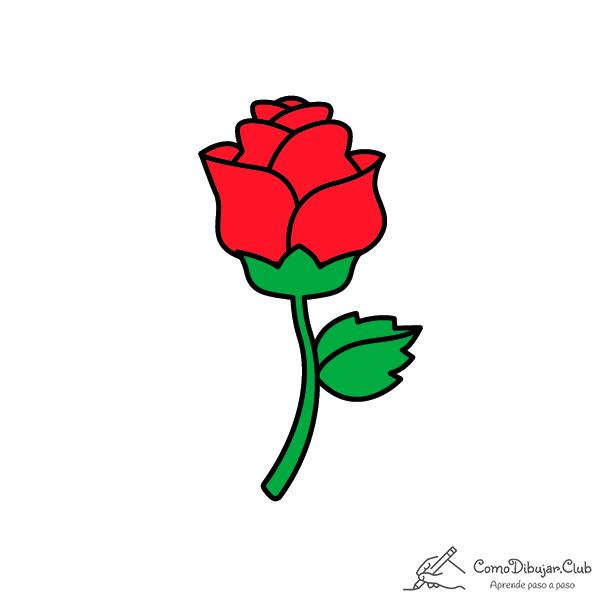 rosa-dibujo