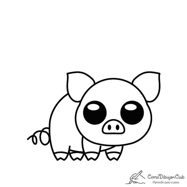cerdo-kawaii-colorear-imprimir-dibujo