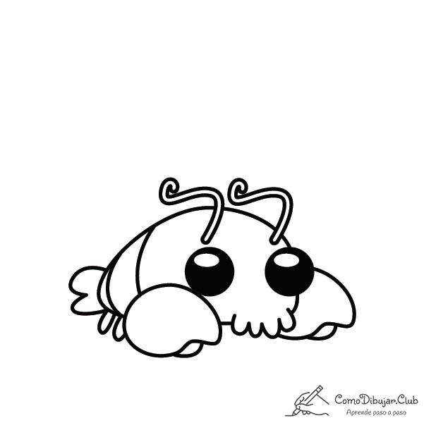 langosta-kawaii-colorear-imprimir-dibujo