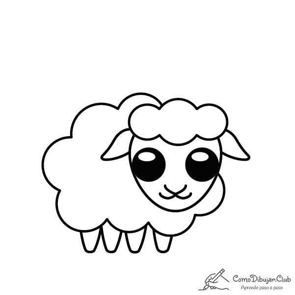 oveja-kawaii-colorear-imprimir-dibujo