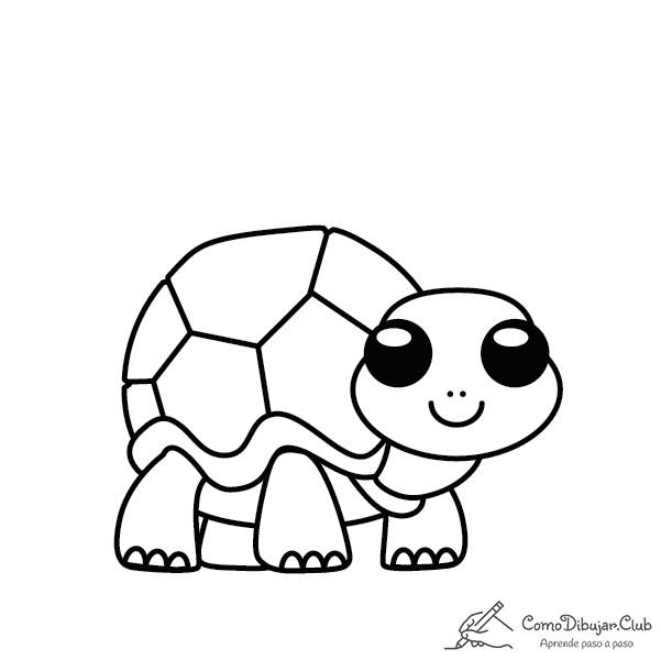 tortuga-kawaii-colorear-imprimir-dibujo