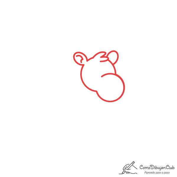 dibujar-cabeza-camello-kawaii