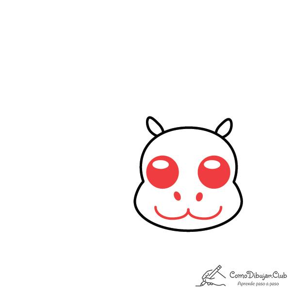 dibujar-hipopótamo-kawaii-facil