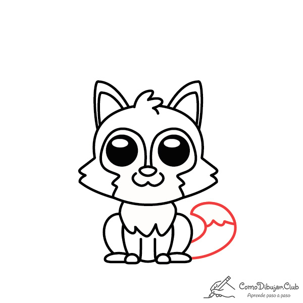 dibujar-lobo-kawaii-facil-tutorial