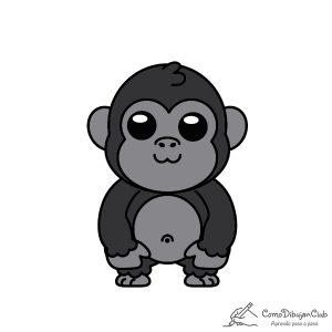 gorila-kawaii