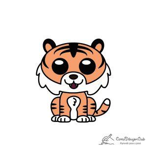 Tigre-kawaii