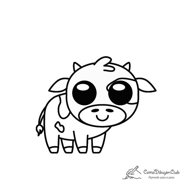 Vaca-kawaii-colorear-imprimir-dibujo