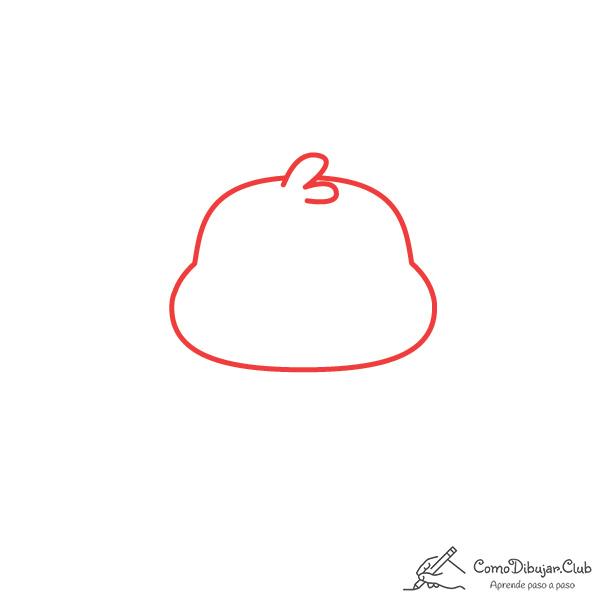 dibujar-cabeza-ornitorinco-kawaii