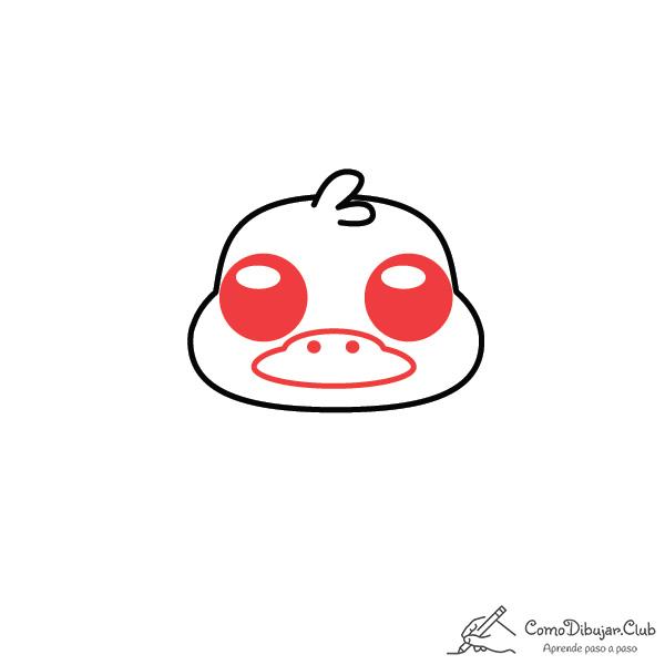 dibujar-ornitorinco-kawaii-facil