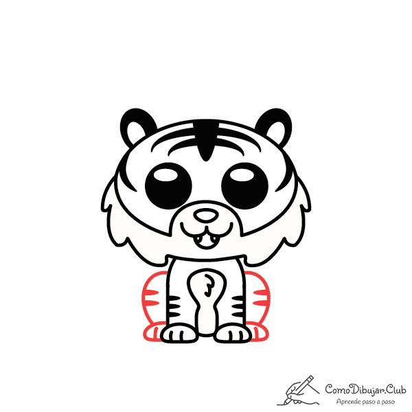 dibujo-Tigre-kawaii-bebe