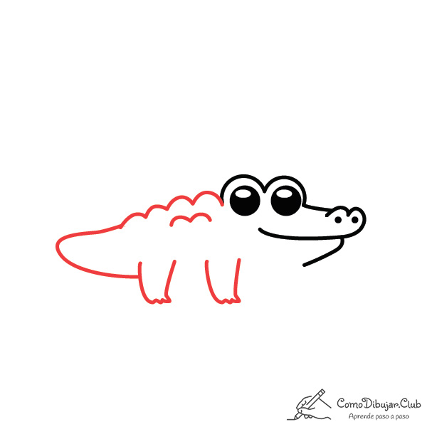 dibujar-cocodrilo-kawaii-paso-a-paso