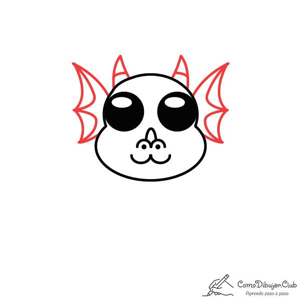 dibujar-dragon-kawaii-paso-a-paso