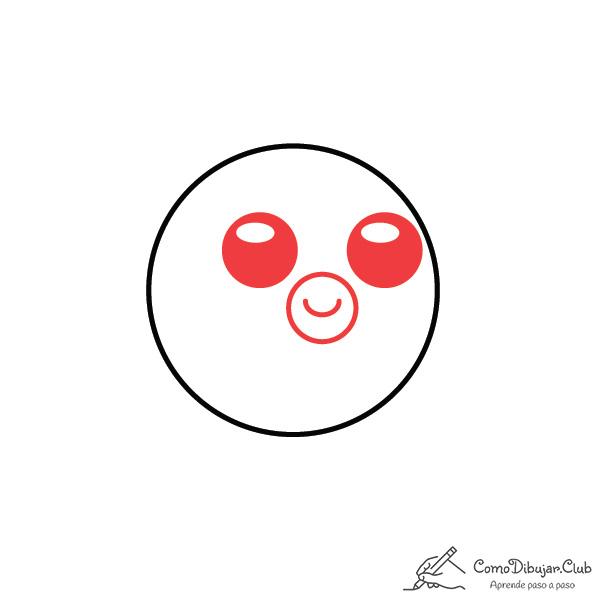 dibujar-pez globo-kawaii-facil